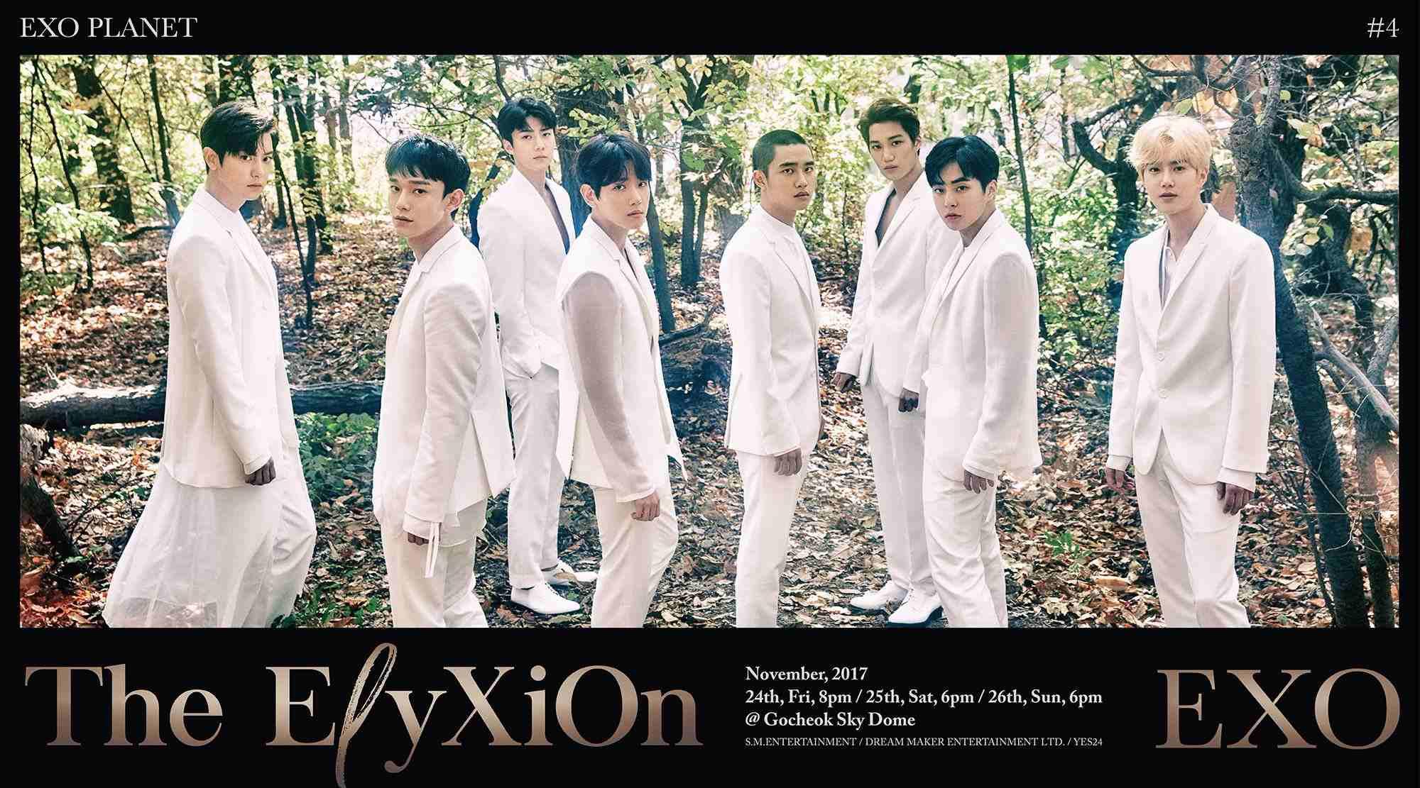 粉絲們期待已久的EXO四巡演唱會終於要開始啦(尖叫) SM官方也釋出了最新預告照,成員們這次的風格曝光後讓網友直呼超像漫畫裡走出的白馬王子,雖然成員的造型都非常帥氣但小編的焦點全都在D.O.的新髮型上(笑XD)