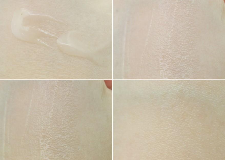 迅速幫皮膚補充水分,不只水嫩提亮了肌膚,連細小的細紋也全都撫平了!