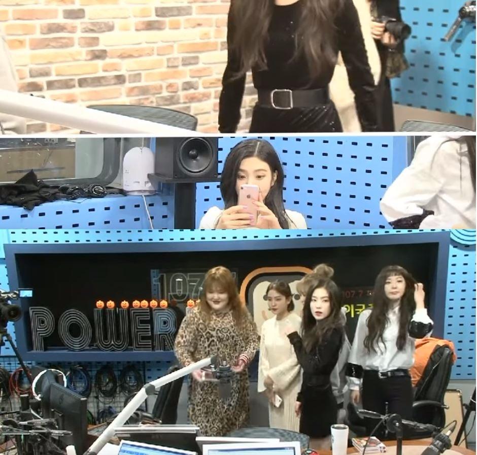 在昨日播出的《Youngstreet》Irene穿著了一件黑色連身裙,並繫上了寬腰帶。 但粉絲卻注意到Irene的腰真的細到很誇張的地步啊!! 而從側面看更是可以感受到Irene有多瘦呢~