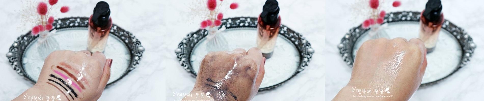 無論是防水或持久型的彩妝都能輕易的卸除,水潤的質地,能深層清潔,敏感肌也能使用~