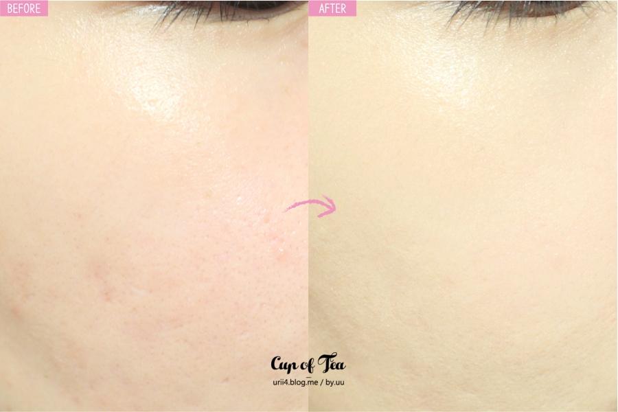 對於肌膚瑕疵有很強的遮蓋力,而且也很控油,持妝力非常好!