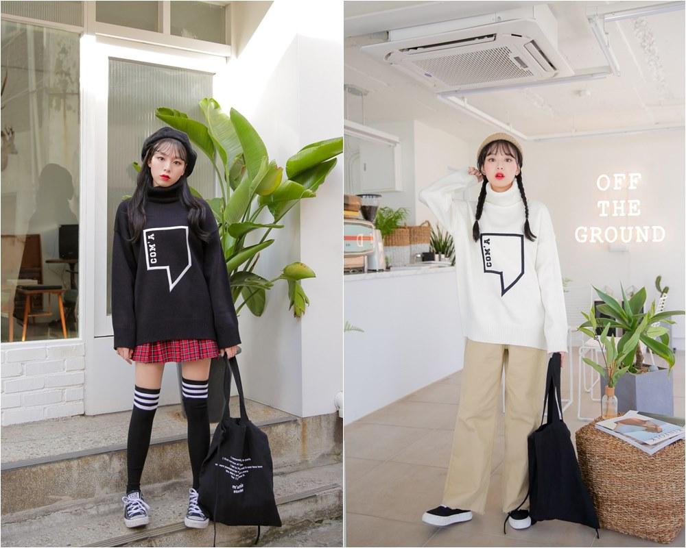 *黑vs白 雖然黑色系穿搭有個性,也不是不顯白,但是如果想要更加提亮膚色,白色衣服會是你很好的選擇!