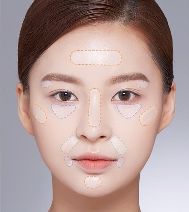 可以塗在下巴、黑眼圈、眉骨之類的地方 會讓五管變得比較立體,看起來也會更有精神