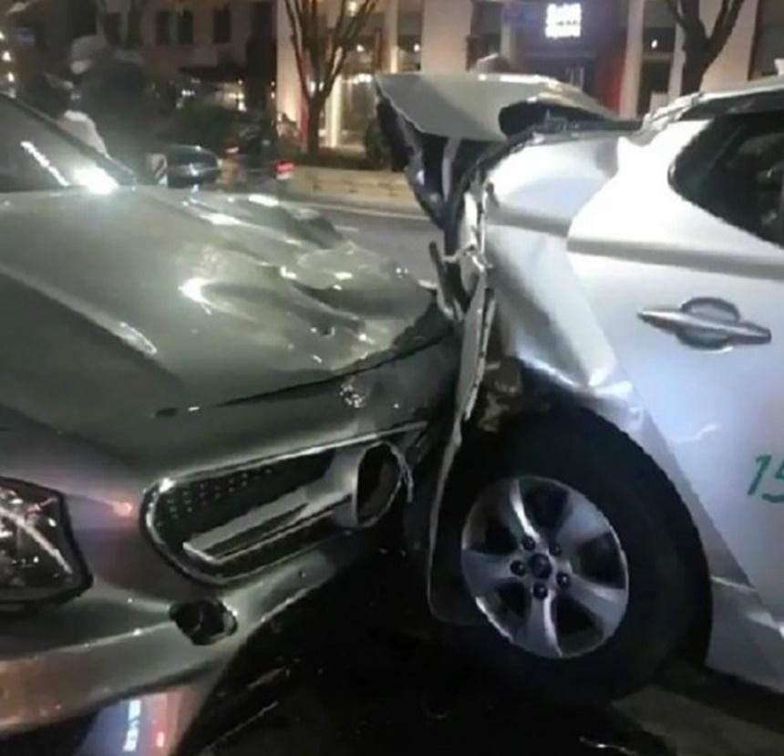 但在車禍處理過程中,自稱是計程車乘客在IG上傳了車禍當時的現場照片,並發表自己對當場救援情況的不滿。