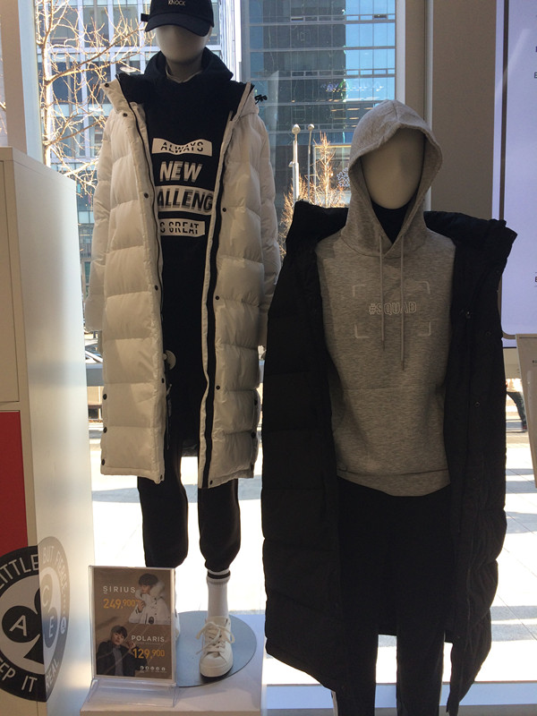 那在韓國,哪裡可以買到呢?小編比較喜歡的就是剛才說過柳俊烈代言的品牌–TOPTEN!