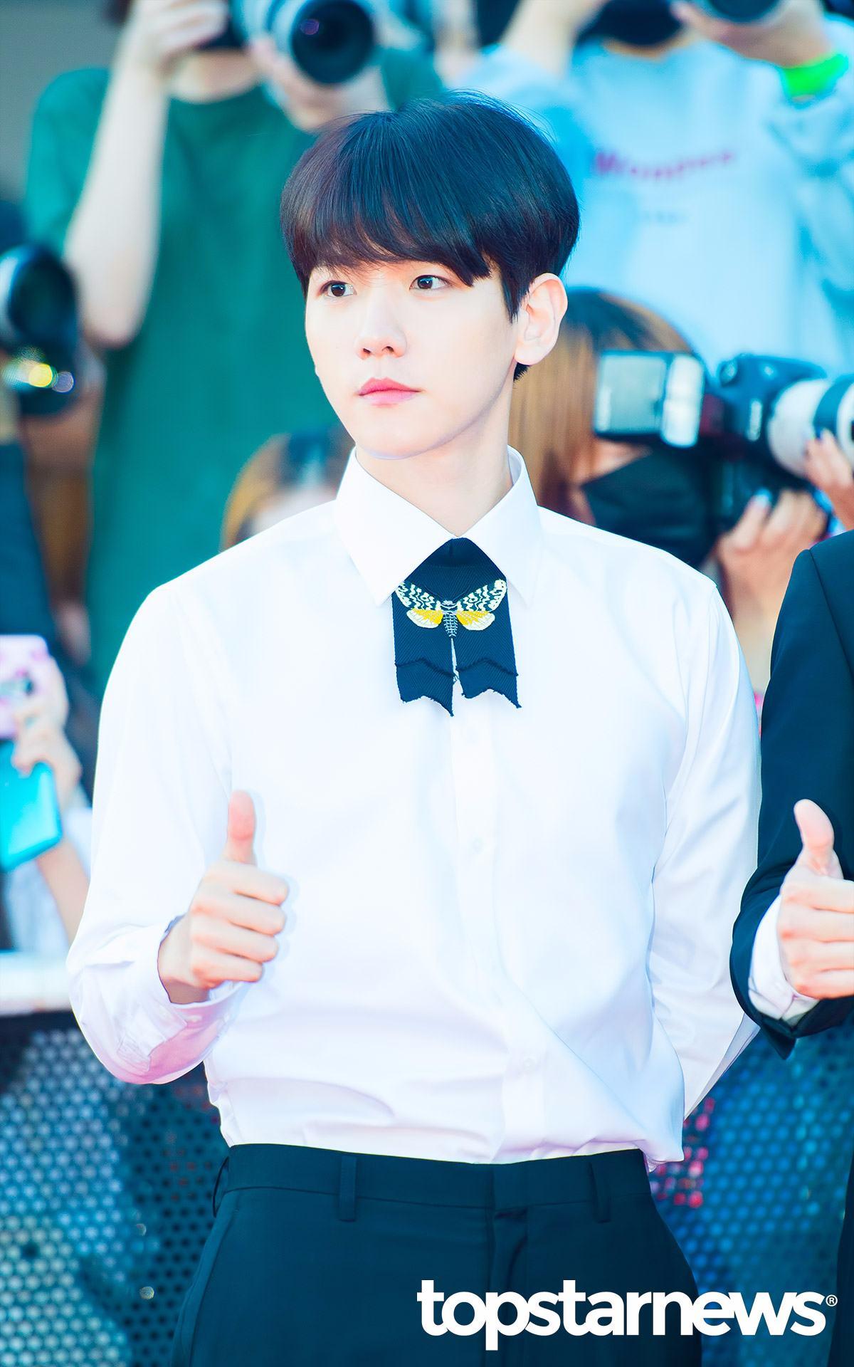 #EXO-伯賢 外表白白淨淨的伯賢輪廓雖然沒有很深,但比例非常好讓人看起來舒服!