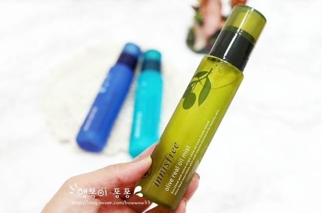【Innisfree】橄欖真萃保溼噴霧 保濕同時鎖水,為乾燥的肌膚建立水分滋養保濕網+防止角質凸起+提高妝容貼合度的3合1功效精華噴霧~