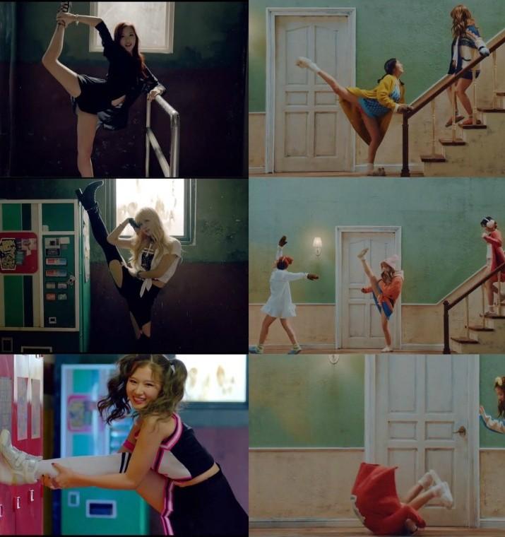 這也讓人想起傻娜在前幾首歌MV中都有凸槌的一面啊XDDDDD