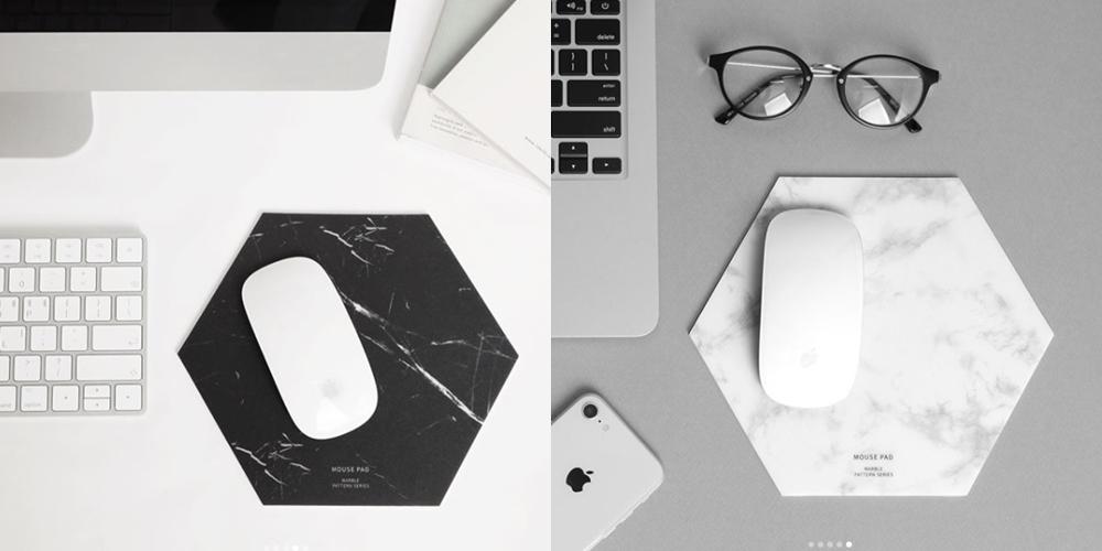 滑鼠墊一樣也有分黑白兩色,不知道你比較喜歡哪一個呢?