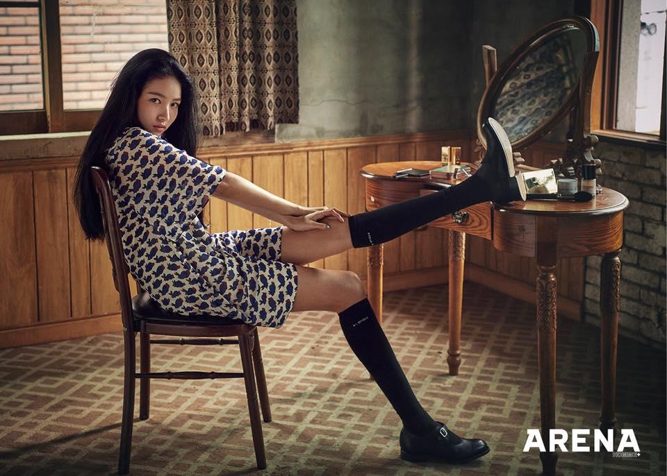 GFRIEND可愛的外表下其實藏著巨人的血液,成員們的身高意外的都還蠻高! 每次都會Sowon的身高嚇一大跳!!!!
