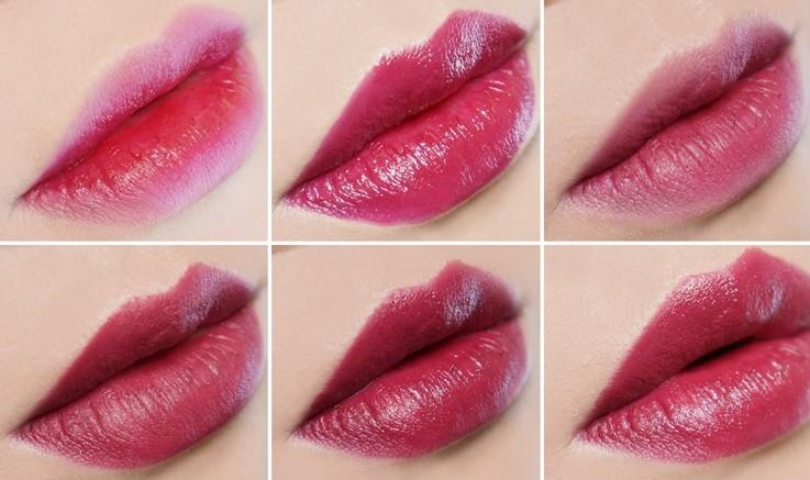 不管是咬唇妝、薄擦、還是厚厚的塗滿整個嘴唇都沒有問題,一支唇膏就可以表現出超多種不同的感覺!