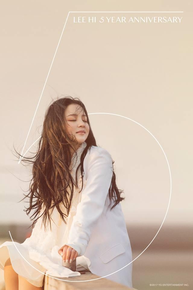 沒錯!就是YG旗下相當有人氣的SOLO女歌手-LEE HI!