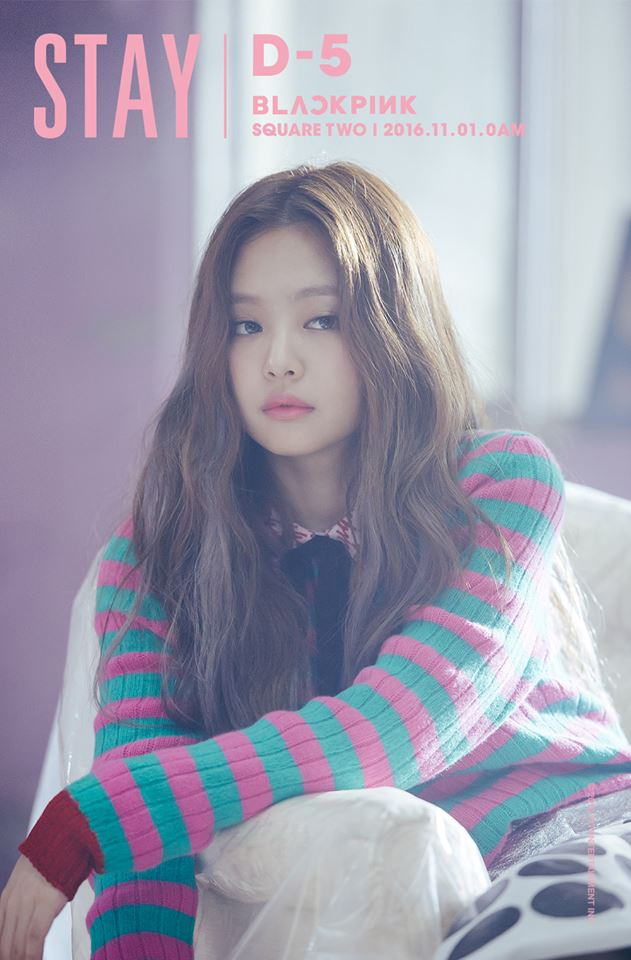 BLACKPINK Jennie	 1996年1月16日
