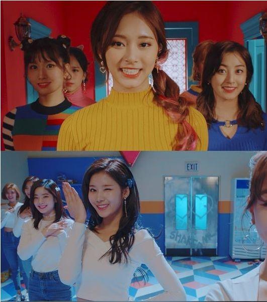2017年TWICE可以說是勞動模範,基本平均每3個月一次的回歸行程,讓粉絲既開心又幸福啊~~而今年的好成績也讓TWICE口袋滿滿,成為JYP旗下偶像的新一代金雞母!改版特別專輯《Merry&Happy》的主打歌〈Heart Shaker〉也在昨日公開!