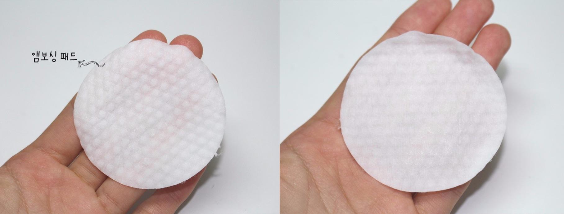 這款雖然沒有手指可以伸進去住的地方,不過一樣是兩面不同花紋設計,一面有圓形凸起、一面平滑。