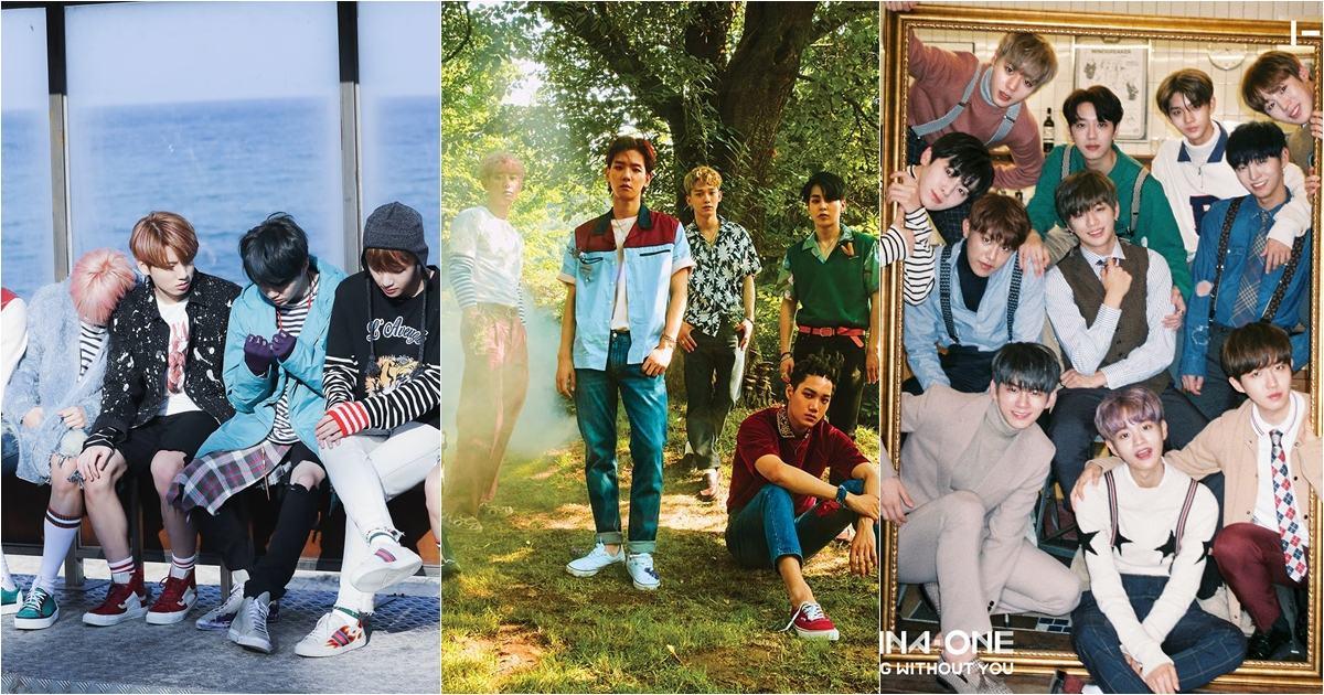 更改寫了韓國人氣男團的排名,現在要說到韓國三大人氣男團,聽到的回答絕對會是EBW(EXO、BTS、Wanna One)