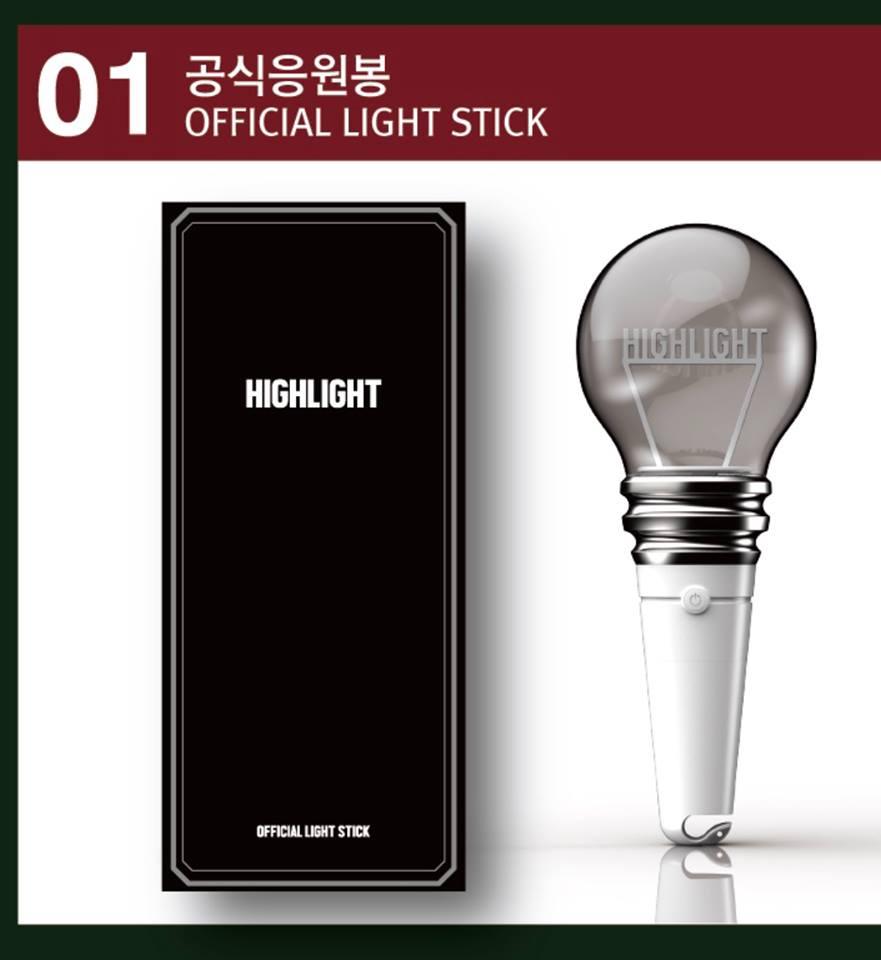 粉絲等了又等的手燈也終於公布啦(尖叫) 官方手燈採用和粉絲的名字「LIGHT」相對應!!! 是一個燈泡的模樣~~~,相當有特色!