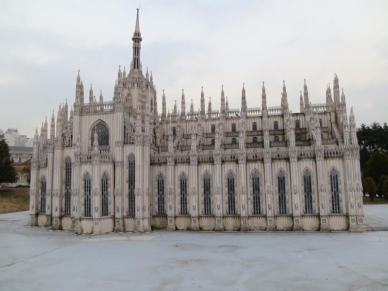 #米蘭主教座堂 實際地點位於意大利米蘭的主教座堂,造工真的很仔細