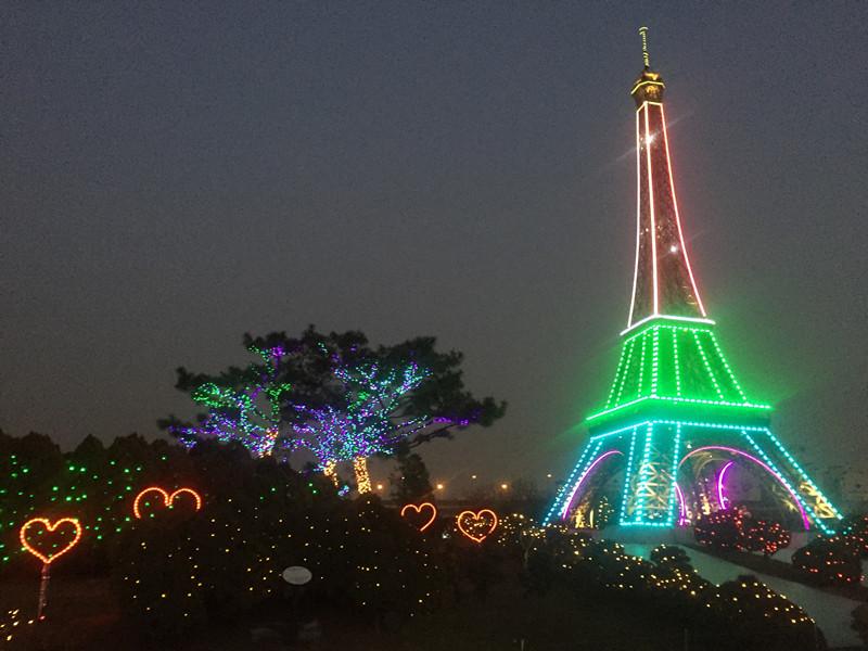 #巴黎鐵塔夜晚