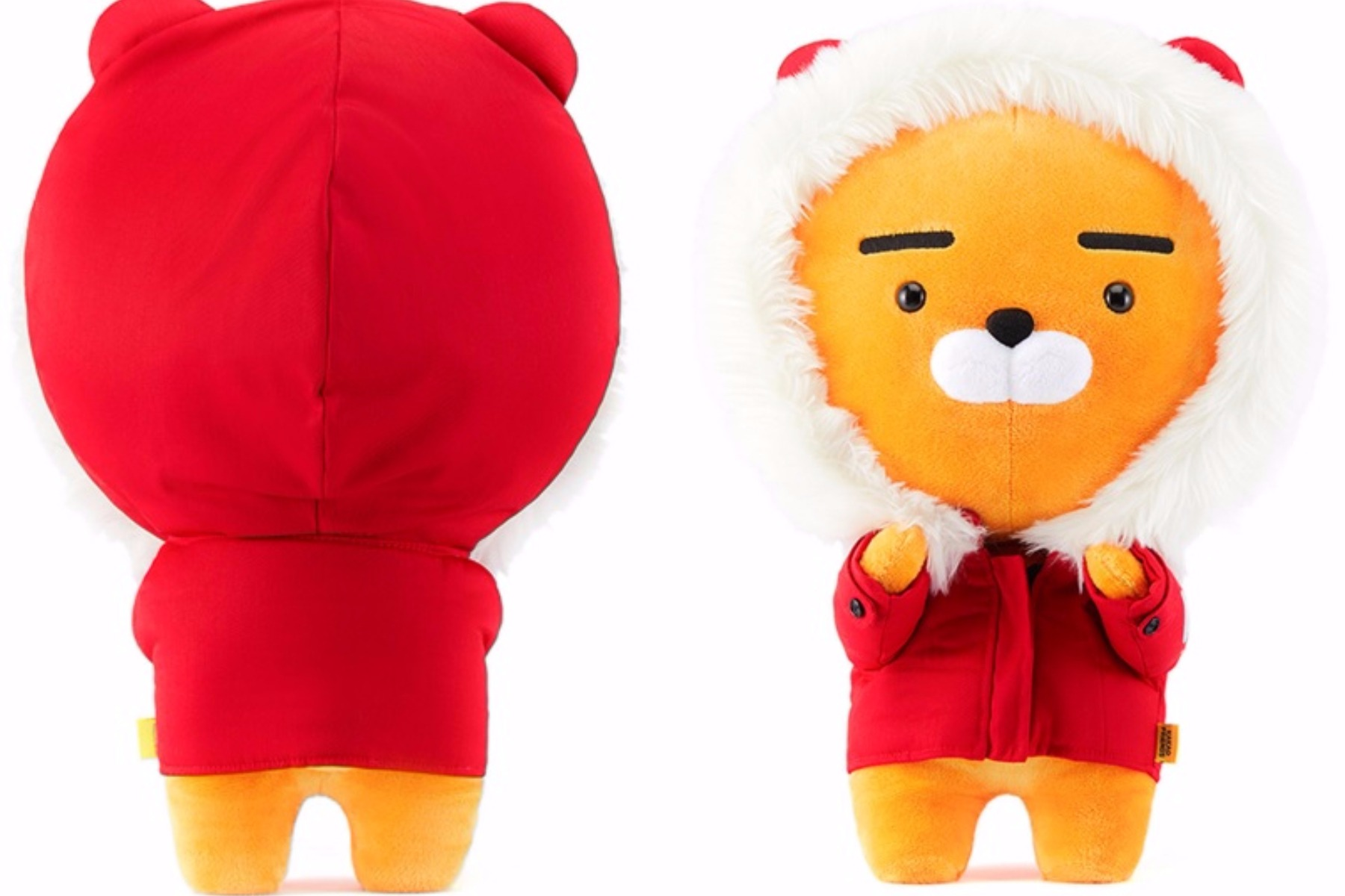 今年的聖誕節更推出限定版Ryan~~會不會太犯規.........超萌啦... 價錢 : 59000韓幣 (約台幣1640元)