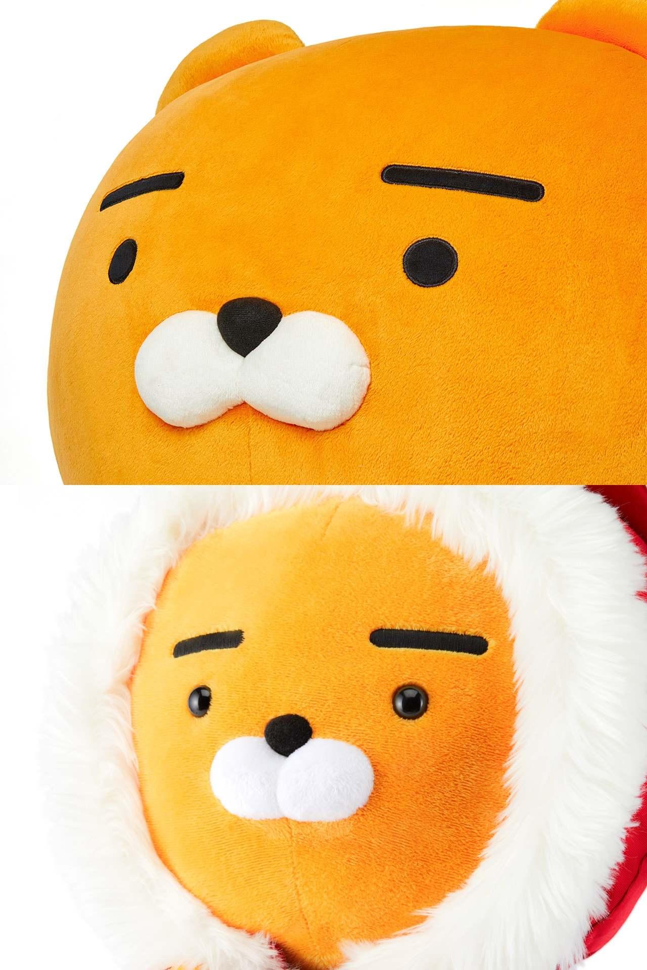 仔細看可以發現聖誕節版Ryan的眼睛跟一般版Ryan有差別,上圖一般的Ryan是平面,下圖聖誕節版的眼睛卻是亮晶晶~~~眼睛裡面有星星!