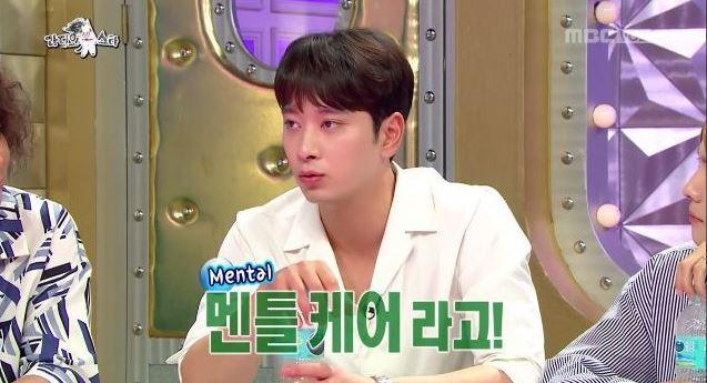 大師兄2PM燦盛還曾在節目上說,JYP家偶像的好處其實不只老闆很有人性,在公司裡甚至從練習生開始就有「心靈課程」