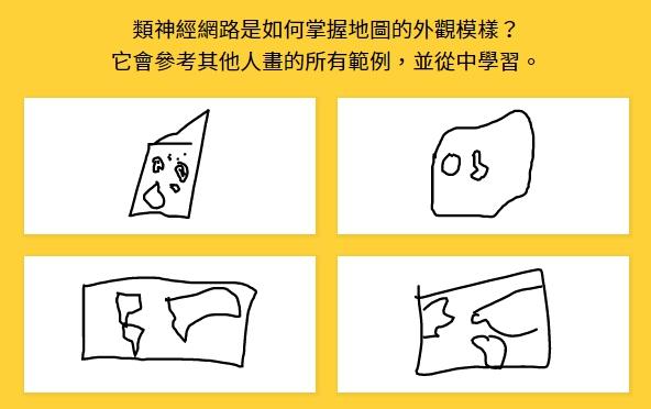 另外還能看到之前猜對這個題目的人都畫了些什麼。(左上那確定不是披薩之類的東西嗎...?)