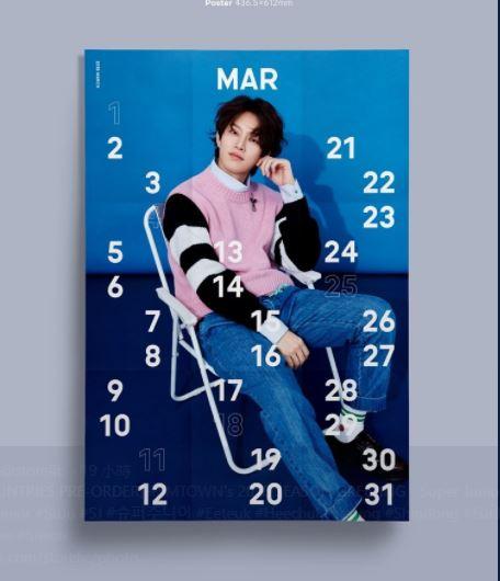 唯一可以安慰自己的就是至少可以當作海報貼在牆上啊! 因為每張月曆真的都非常漂亮!