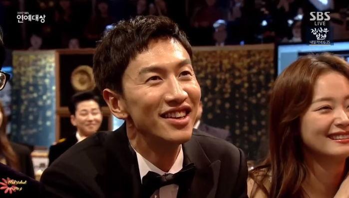 現場看到Irene的人臉上表情都跟台下的光洙一模模一樣樣