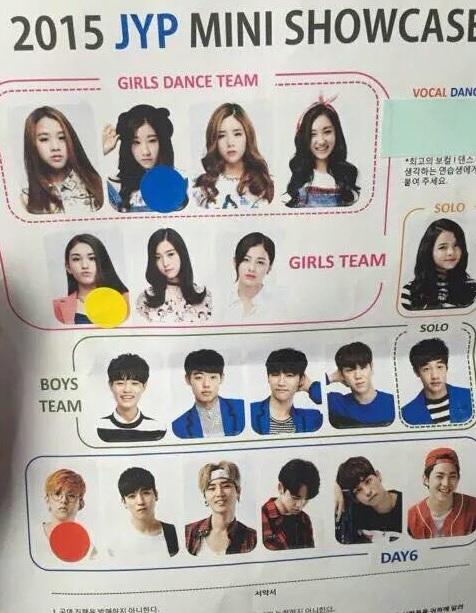 Wanna One的李大輝待過JYP 和他同期的練習生有TWICE的成員和Somi 還有JYP新人男團Stray Kids成員等等