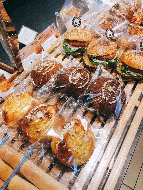 所有麵包都是獨立包裝,方便Take out,亦比較衛生。