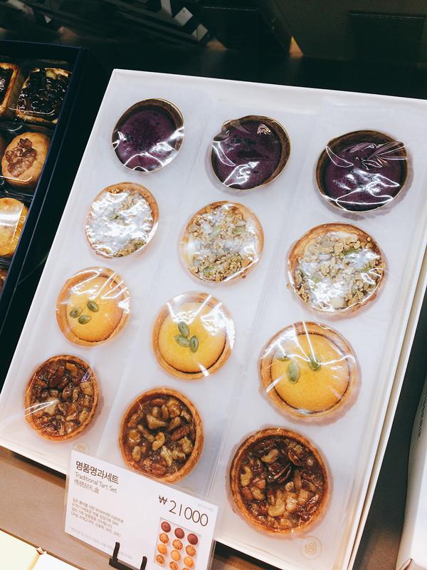 來買一盒傳統的韓國點心作為拌手禮,既有特色又能讓朋友試一下來自韓國的味道。