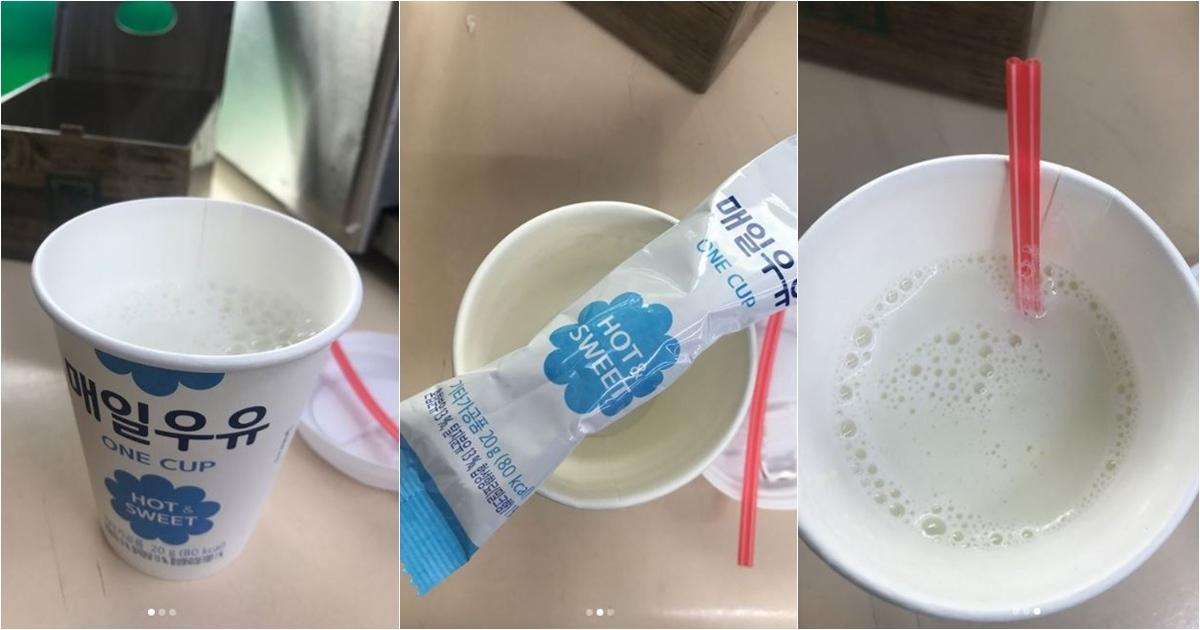 而這款牛奶價格不貴,只要1000韓幣(約台幣30元)就能享受一杯現泡的溫暖濃醇牛奶!只在韓國的7-11超商買得到!想要搶搭韓國熱潮搶鮮,不要跑錯地方囉!