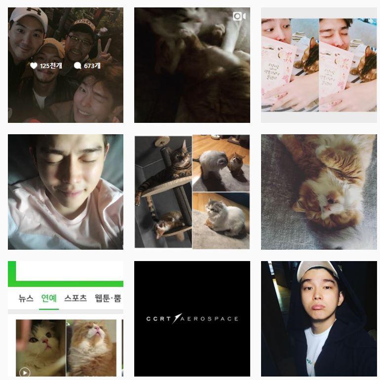 紀錄他日常生活的IG上更是充滿著他和三隻愛貓生活的共同身影,就知道貓咪對他來說不只是寵物,更是如同朋友般的存在。