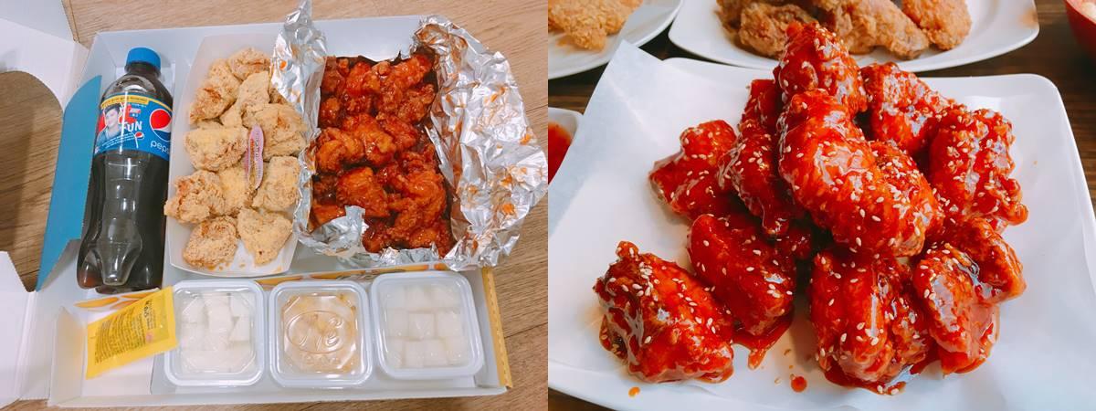 #10 炸雞套餐 最後就是最受歡迎的炸雞,在韓國一定要試!!
