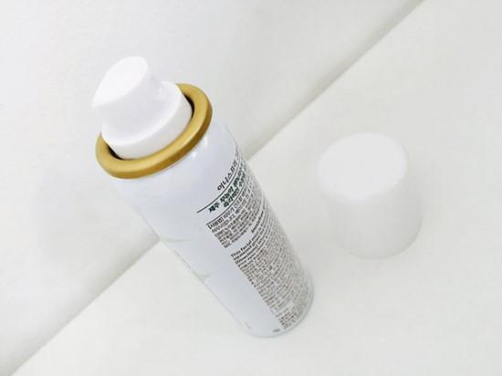 一樣是金屬瓶身的氣壓式噴霧,小小一瓶很方便隨身攜帶。