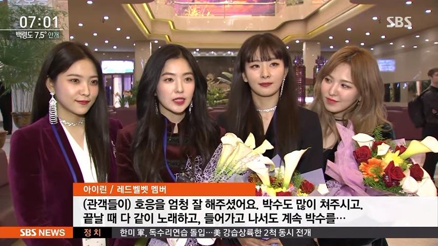 而今天就要告訴大家一個「選對位置」有多重要的故事,而主角當然還是我們的Red Velvet!因為代表團中少數的「偶像」身份,讓Red Velvet在北韓的一舉一動都各外受到關注