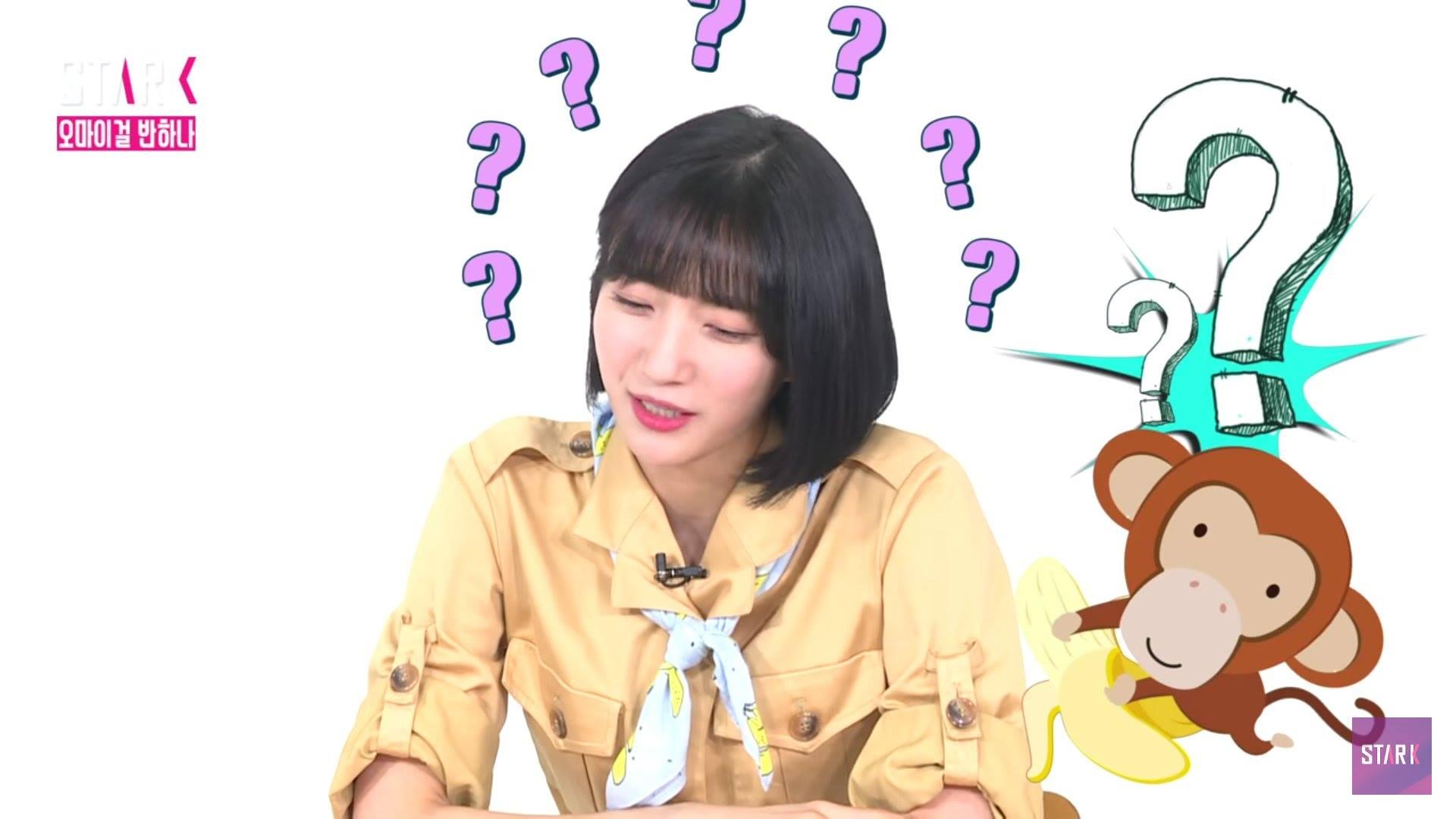 不僅成員Binnie露出猴子問號表情,還形容說「有時候人會有看了東西,但只是穿過腦海,無法理解的時候」,她笑說新歌就是給她這樣的感受