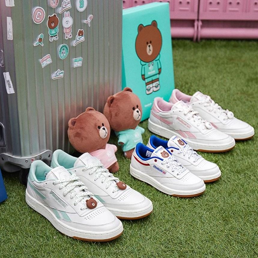 另外當然也有小心機鞋帶扣,這款副的是熊大造型啊!兩款是不是都很犯規XDD