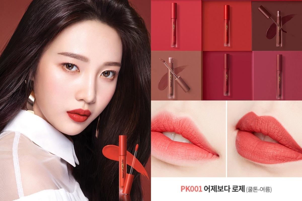 這隻唇釉根據韓妞所說真的非常好用,剛上唇是水光感、但會轉化為霧面,而且非常持久!以JOY為名的OR201是非常鮮豔的橘紅色調,另外PK001則是偏紅的玫瑰調,兩個顏色都是可以凸顯女孩魅力的顏色啊~