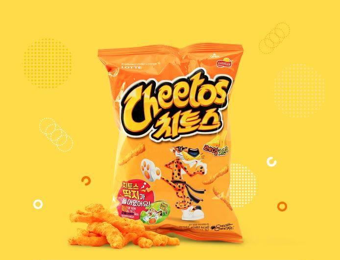 #10 樂天 Cheetos 販賣量:316億韓元 1988年生產