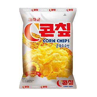 #9 Crown C Corn Chips 販賣量:358億韓元 1988年生產