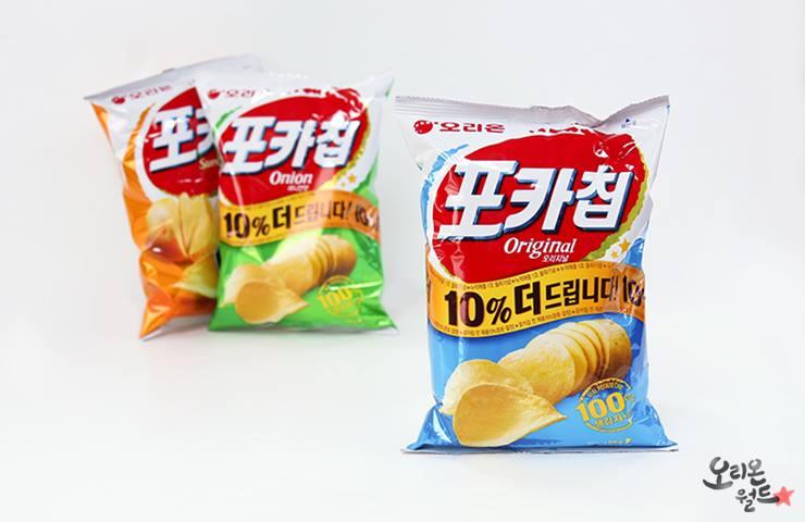 #3 Orion 生洋芋片 販賣量:759億韓元 1988年生產