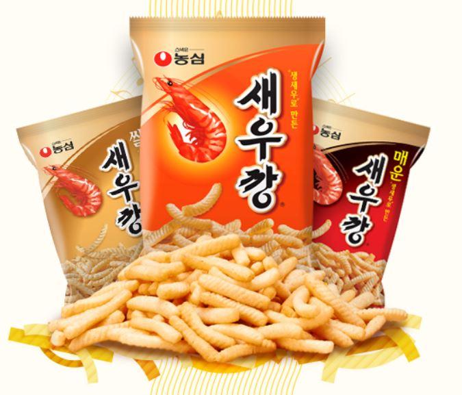 #2 農心 鮮蝦條 販賣量:792億韓元 1971年生產