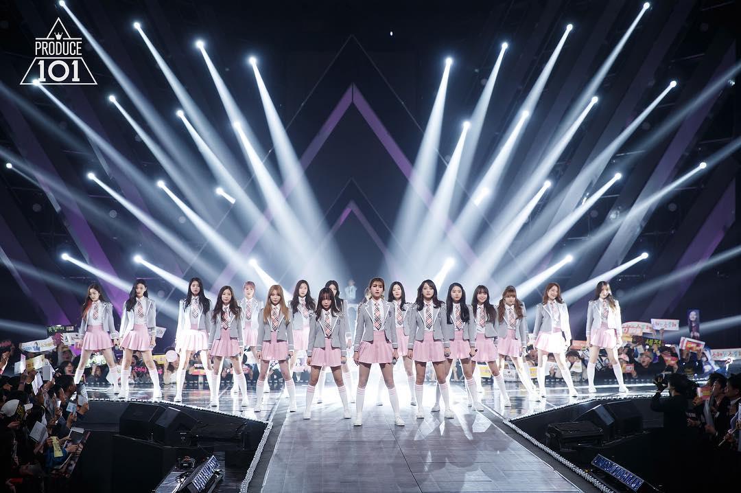 《PRODUCE 101》是Mnet在2016年推出的韓國第一個「經紀公司大型企劃女團」新女團選秀節目,以101名來自不同經紀公司的女練習生作為主角,在節目中同吃同住、完成各種任務,最後獲選的11名成員組成一個團體出道