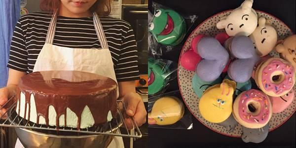 #2 Atmosphere Cafe 左邊的薄荷蛋糕也太吸引了吧...卡通角色的蛋糕也很有名!! [地址] 首爾望遠洞岩寺1街 37 [交通] 6號線 望遠站 2號出口