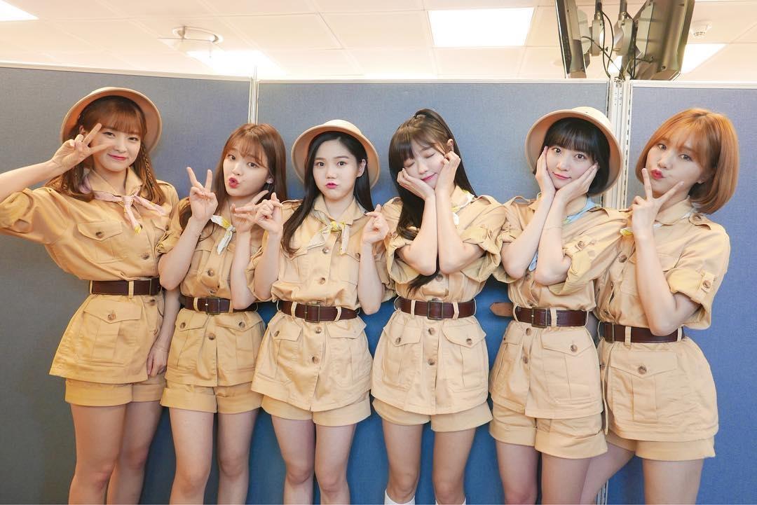 儘管這回Oh My Girl發片音源成績不如預期,但成員仍以7人不同的魅力,以及各領域上的發展而圈到了不少的粉絲,在韓國的粉絲群算是相當穩固啊!