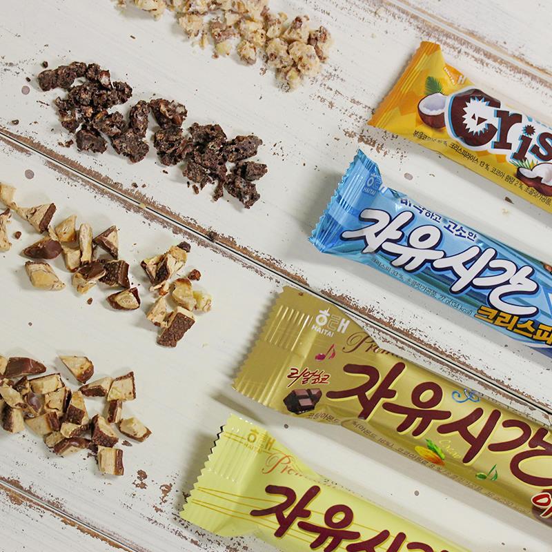 #4 海太 自由時間巧克力 販賣量:521億韓元