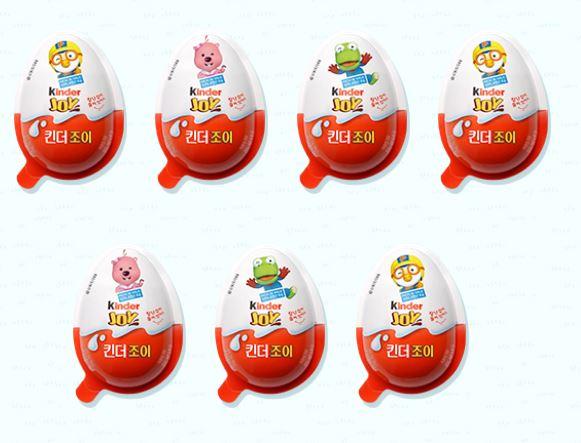 #3 健達奇趣蛋 販賣量:579億韓元