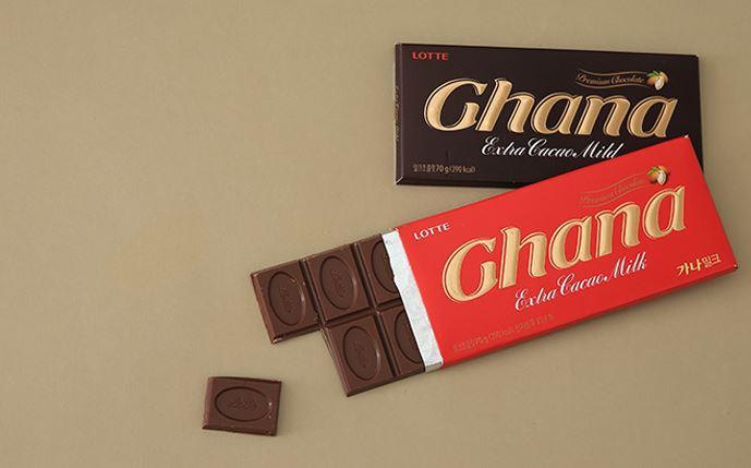 #2 樂天 加納巧克力 販賣量:717億韓元